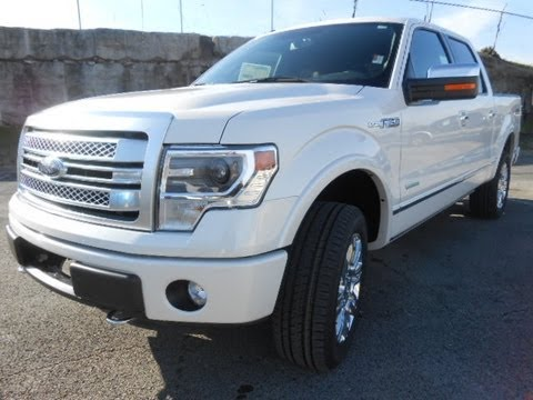 SOLD!! 2013 FORD F-150 SUPERCREW PLATINUM 4X4 ECOBOOST FORD OF MURFREESBORO 888-439-1265