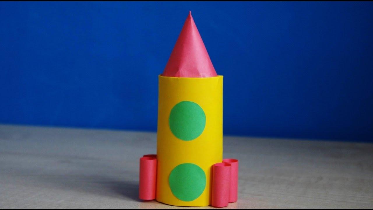 Поделки из бумаги своими руками ракета 59