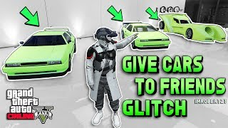 GTA 5 FREE CARS SOLO MONEY GLITCH $1,000,000 Give Cars To friends GTA Online GTA 5 Glitches