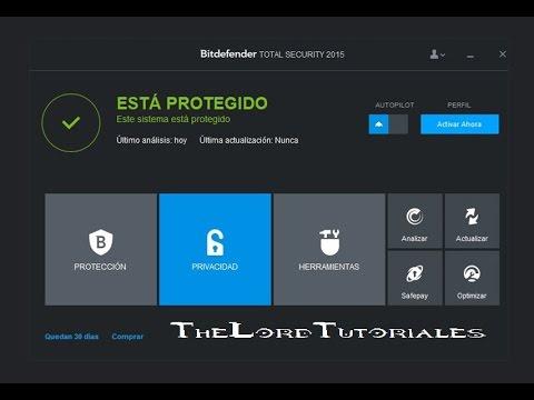 Descargar el mejor Antivirus para el 2015 Bifdefender Total Security FULL