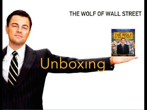 The Wolf of Wall Street Blu-Ray + DVD + Ultraviolet Unboxing!!