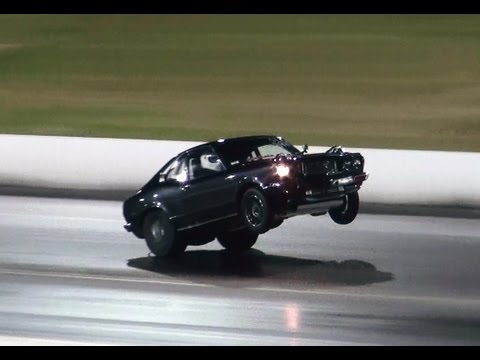 TWIN TURBO V8 RX3 COUPE SETS A NEW PB 7.83 @ 178 MPH APSA SHOOTOUT SYDNEY DRAGWAY 18.5.2013