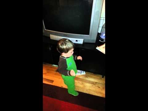Baby Dancing To New Big Red Beat!  Booty Poppin! video