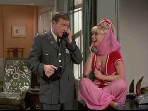 Bezaubernde Jeannie - Barbara Eden & Larry Hagman 1960er Kult TV Serie