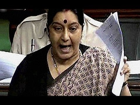 Shinde should apologies for 'Hindu Terror' comment: Sushma