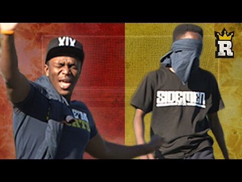 KSI - BLINDFOLD PENALTIES w FIFAmanny | Rule'm Sports