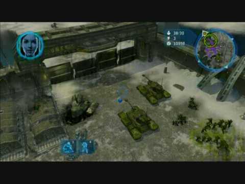 Halo Wars Marines vs Flood Halo Wars Flood Demo