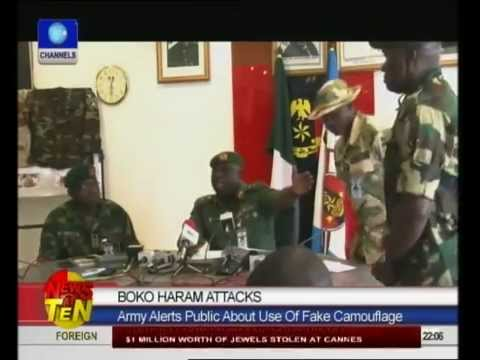 Army Warns Of Boko Haram Using Fake Military Camouflage