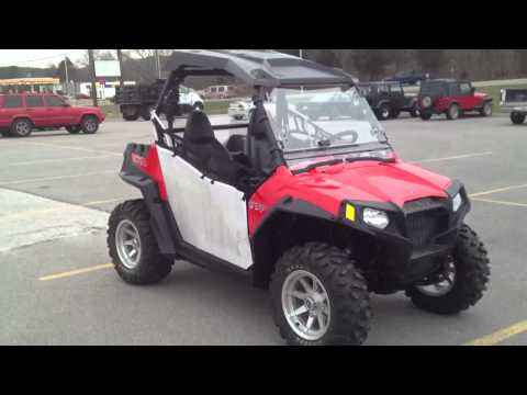 2012 Polaris RZR 570 with Doors. Top. Windshield.  Fender Flares. Wheel Kit and Rear Panel