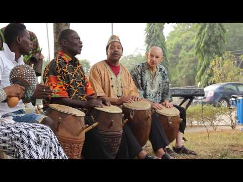 blood drum spirit at WEB DuBois Center Accra