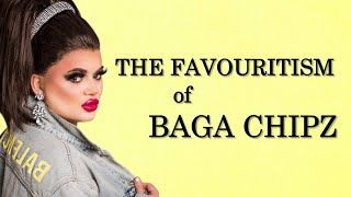 The Favouritism of Baga Chipz on Season 1 of RPDRUK