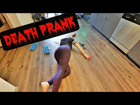 DEAD GIRLFRIEND PRANK on BOYFRIEND!! (death prank) | CASHMORE pranks
