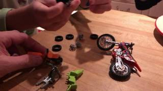 lego toy motorbikes