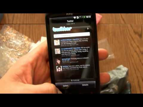 Video: HTC Sensation XE Unboxing & Hands-On