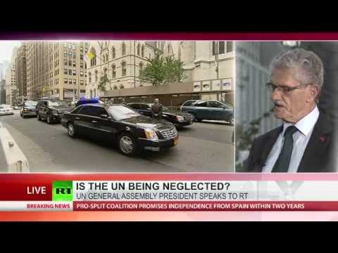Is the UN being neglected? UNGA President speaks to RT