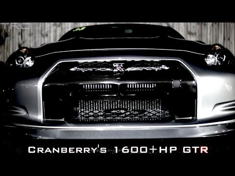 Race Of Gods Nissan Gtr Cranberry 1600hp Vs Blackbird