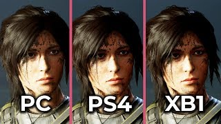 Shadow of the Tomb Raider – PC vs. PS4 vs. Xbox One Frame Rate Test & Graphics Comparison