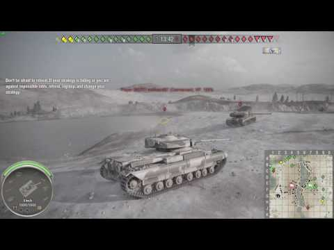 World of Tanks going swimming