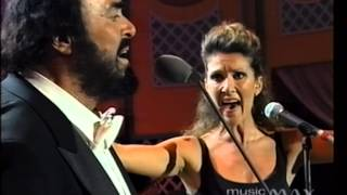 Luciano Pavarotti Celine Dion I Hate You Then I Love You