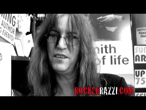Patti Smith interview with Rockerrazzi Jared Sagal
