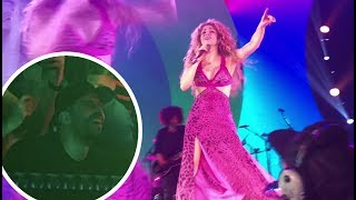 Download Lagu Gerard Piqué watching Shakira's concert (El Dorado World Tour Cologne Lanxess Arena) HD Gratis STAFABAND