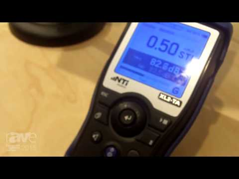 ISE 2015: NTi Audio Explains How the XL2-TA Sound Level Meter Works