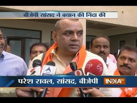 Actor Paresh Rawal slams Baba Ramdev for his controversial remark on 'bharat mata ki jai'