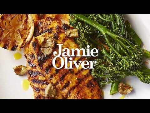 Курица с лимоном и пюре из батата от Джейми Оливера (Русская озвучка)