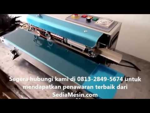Mesin Press Plastik Makanan Otomatis Murah FR-900S
