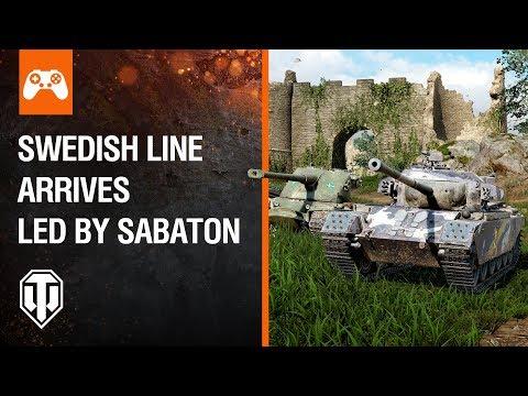 Console: Swedish Line Arrives Led By Sabaton