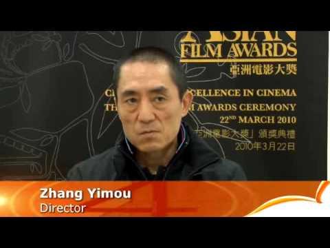 Zhang Yimou: Hong Kong's