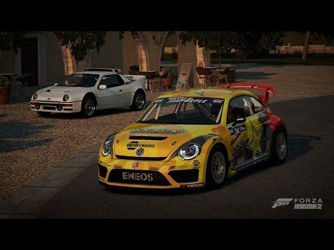 Forza Horizon 2 - 2014 Volkswagen Beetle GRC Gameplay HD