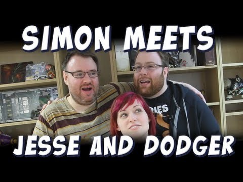 Simon Meets Jesse & Dodger (+ Bioshock Box!)