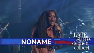 Noname Performs A Three-Song Medley From Her Album