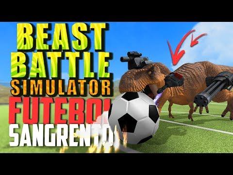 FUTEBOL, ANIMAIS CONTRA DINOSSAUROS! - Beast Battle Simulator ‹ Bitgamer › thumbnail