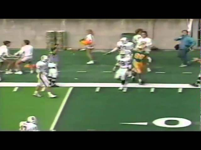 Oregon WR James Jessie 20 yard reception vs. Stanford 11-02-1991