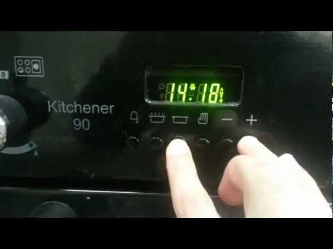 Rangemaster Kitchener Programming The Cooking Timer