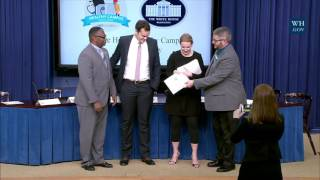 Healthy Campus Challenge Day at the White House