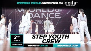Step Youth Crew| 2nd Place Team |Winners Circle| World of Dance Indonesia Qualifier 2019 | #WODIDN19