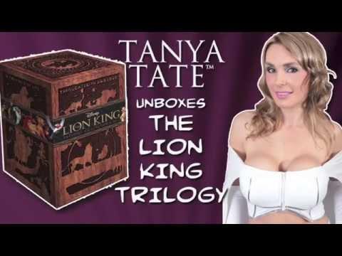 TANYA TATE - Disney's Lion King 3D Blu-Ray Box Set Unboxing
