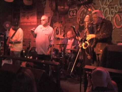 Nick Moss All Star Jam at the Rum Boogie in Memphis - Curtis Salgado, Lurrie Bell&more