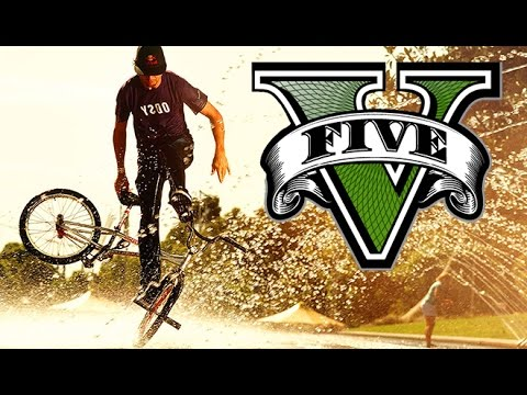 GTA 5 EPIC BMX STUNT MONTAGE! (GTA 5 Stunts)