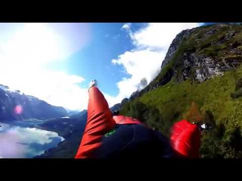 360°Экстрим. Прыжок с горы. Виртуальная реальность 3D