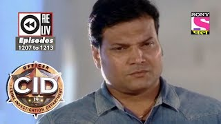 Weekly Reliv | CID | 21st October to 27th October 2017 | Episode 1207 to 1213