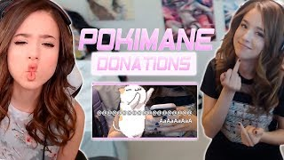 Pokimane ~ FUNNIES & BEST DONATIONS