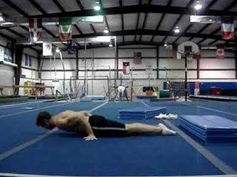 My 300 workout (pushups and core) 10-15-07 Image 1
