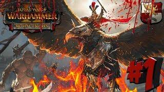 СТРИМ! Total War: Warhammer 2 (Легенда) - Империя #1 Второй шанс для Империи!