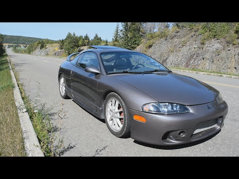 1996 Mitsubishi Eclipse GSX - Exhaust, Launch and Driving around
