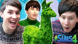 DIL GETS A LLAMA - Dan and Phil Play: Sims 4 #9