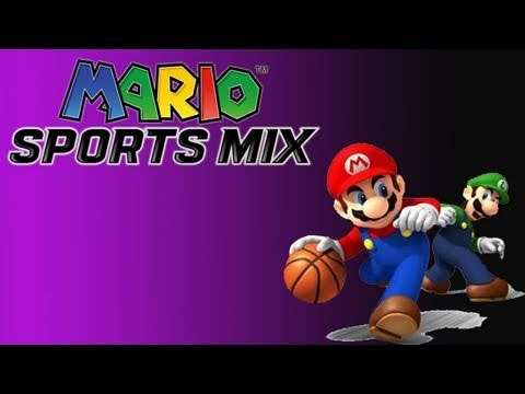 Gaming with the Kwings - Mario Sports Mix: Basketball Gameplay Co Op (HD)